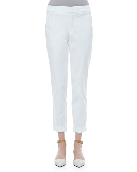 Vince Twill Boyfriend Trousers