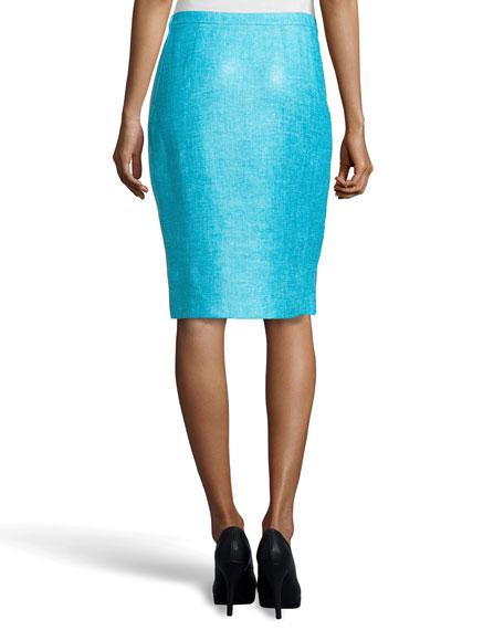 Sofia Tweed Skirt, Pool