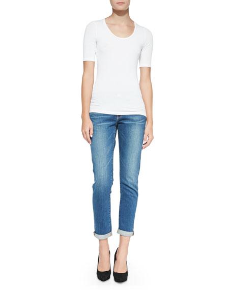 FRAME Le Garcon Denim Jeans, Berkley Square