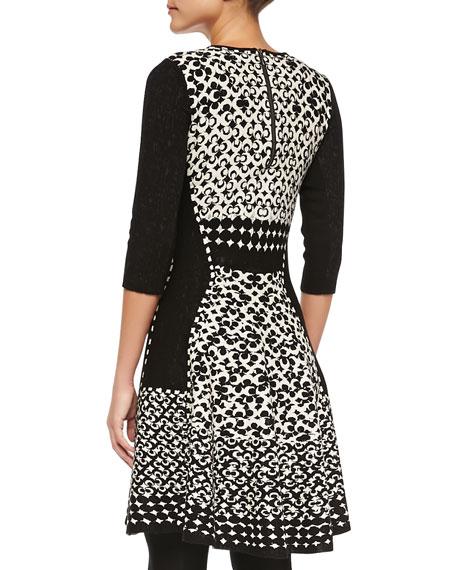 Half Moon Twirl Dress, Plus Size