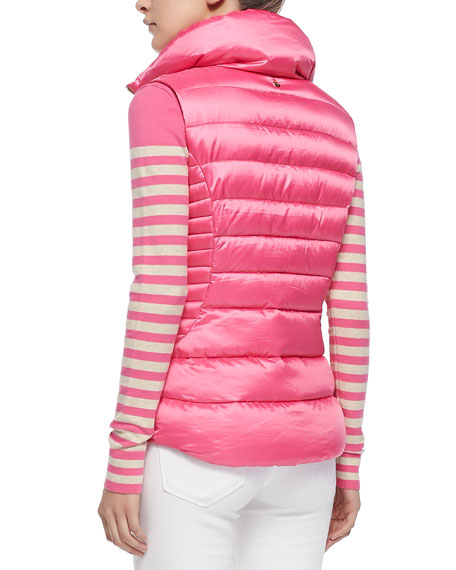 Lilly Pulitzer Allie Zip Puffer Vest
