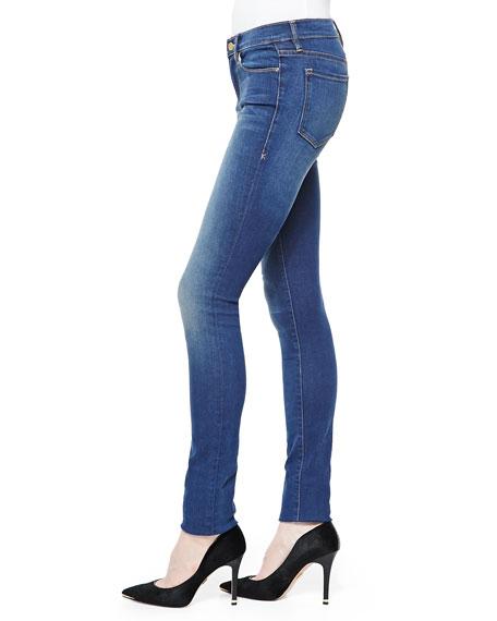 FRAME Forever Karlie Skinny High-Rise Jeans, Columbia Road