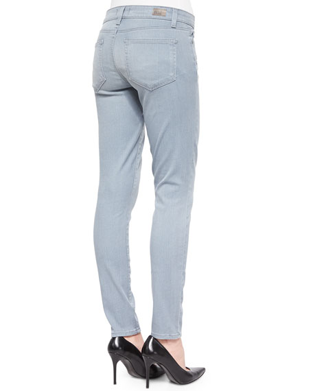 Ultra-Skinny Zipper Jeans