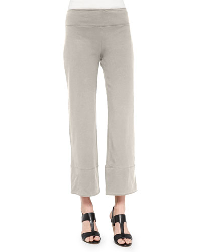 Jersey Ankle Pants, Stone