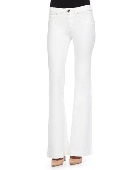 DL 1961 Premium Denim Joy High-Rise Flare Jeans