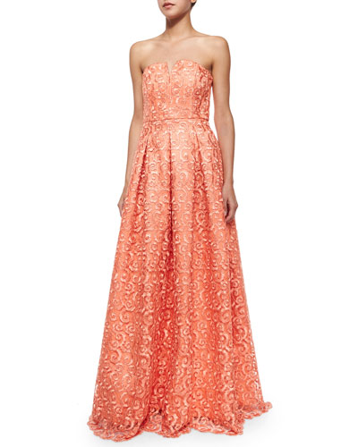 Kamila Beaded Full Gown