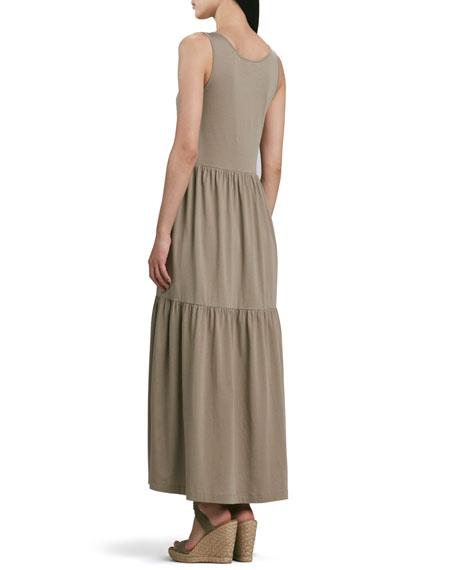 Petite Tiered Long Tank Dress