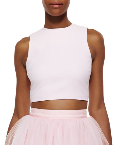 Banks Cropped Top, Pink Wash