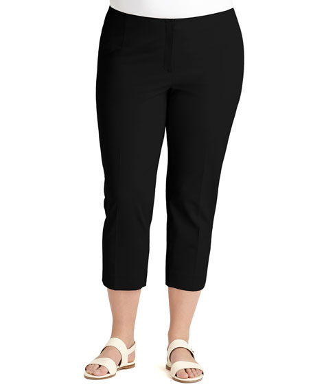 Cropped Bleecker Pants, Plus Size