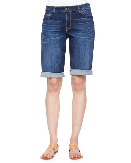 CJ by Cookie Johnson Honor Roll-Up Bermuda Shorts