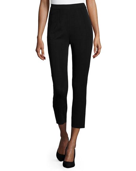Misook Slim Ankle Pants, Black, Plus Size