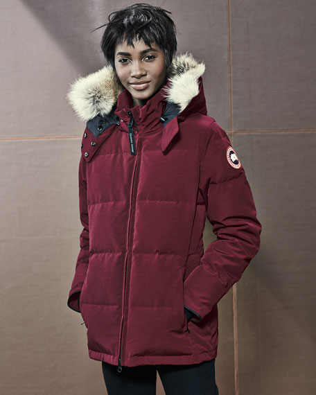 Canada Goose Chelsea Parka Red