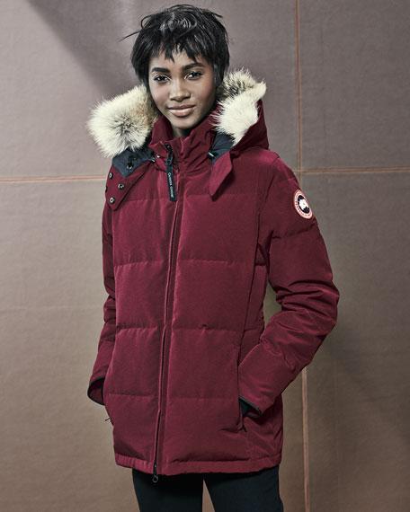 canada goose coat fur hood