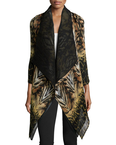 Wild Voyage Dramatic Jacket, Women's