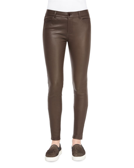 Vince Skinny Leather Pants