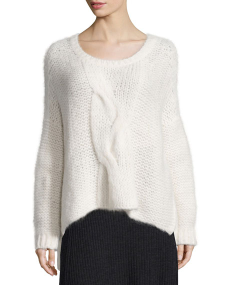 Eileen Fisher Fisher Project Fluffy Box Top
