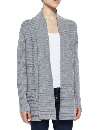 Kanoa Jersey Stitched Sweater, Heather Gray