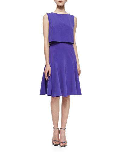Elizabeth Sleeveless Popover Dress