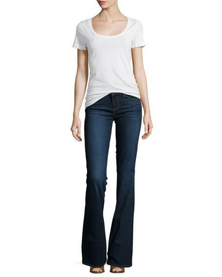 Skyline Boot-Cut Jeans, Alanis