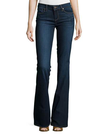 Paige Denim Skyline Boot-Cut Jeans, Alanis
