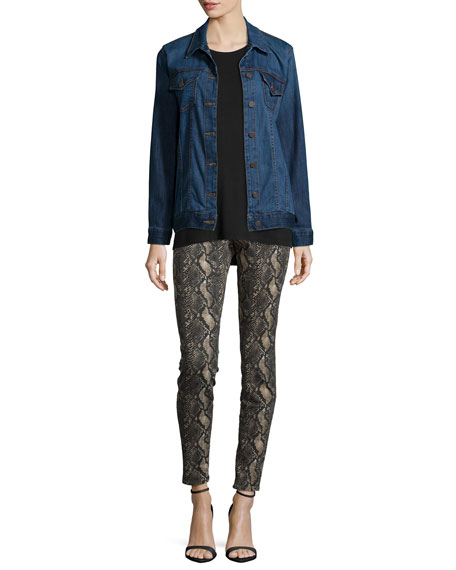 CJ by Cookie Johnson Joy Snake-Print Leggings