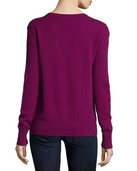 Cecile Cashmere V-Neck Sweater