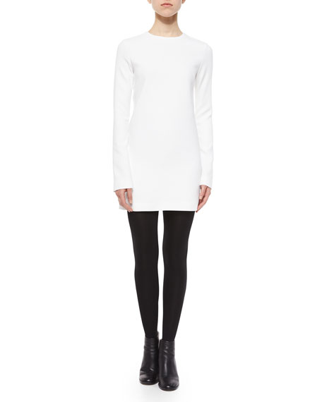 Long-Sleeve Tunic Dress