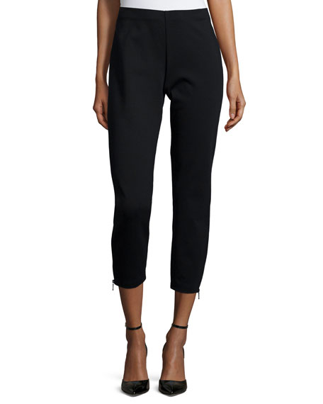 Eileen Fisher Heavyweight Slim Ankle Pants