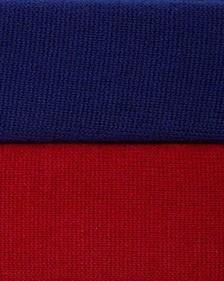Long-Sleeve Merino Turtleneck Dress