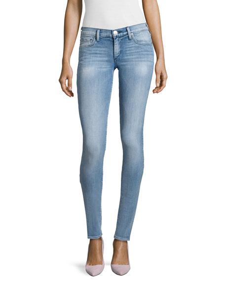 True Religion Stella Low-Rise Skinny Jeans, Nu Drifter