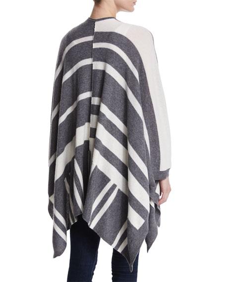 Waverly Striped Cashmere Cardigan