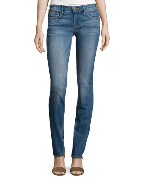 True Religion Cora Straight-Leg Jeans, Vintage Ink