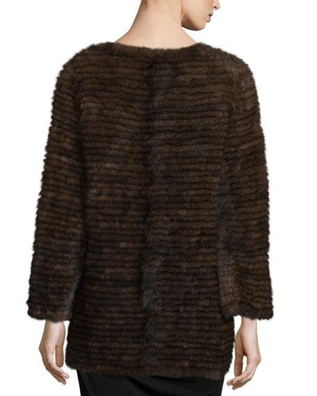 Layered Mink Fur Coat
