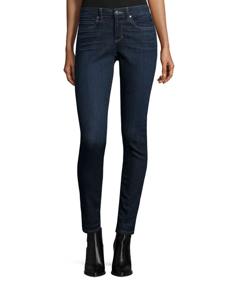 Eileen Fisher Organic Soft Stretch Skinny Jeans, Deep