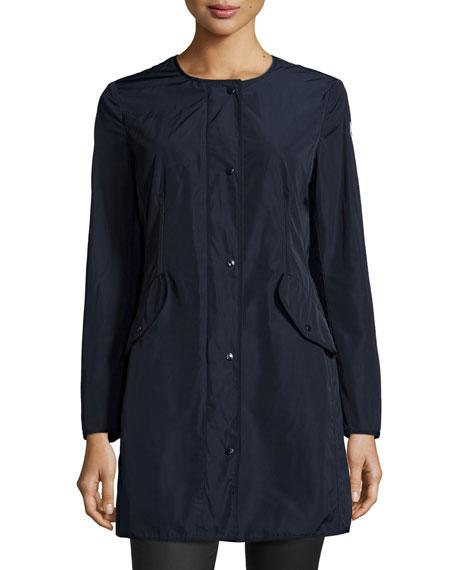 Argeline Long-Sleeve Zip-Front Coat