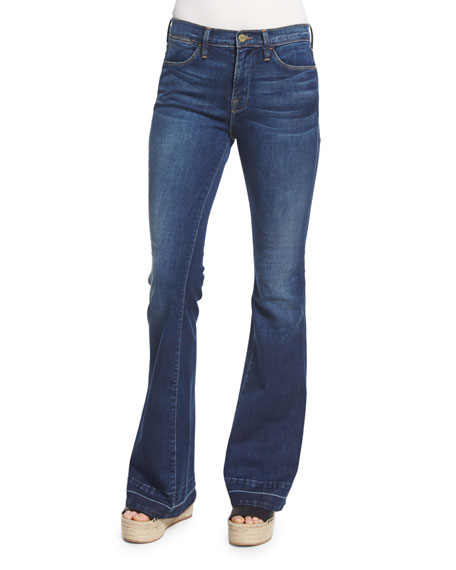 FRAME DENIM Le High Flare Jeans, Colby