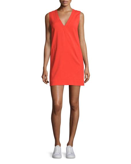 Rag & Bone Phoebe Sleeveless Crepe Dress, Sunburst