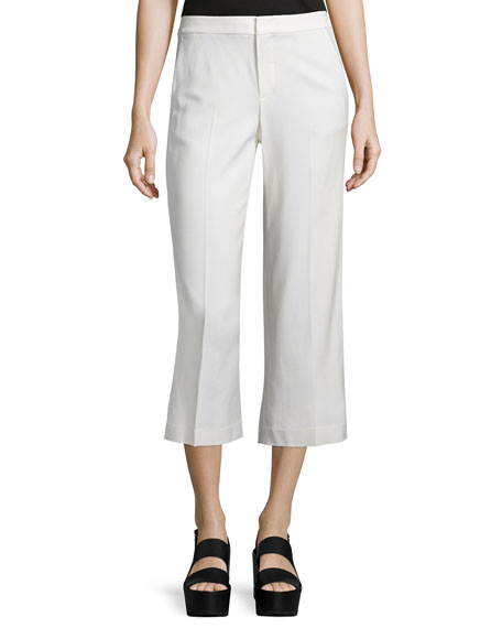 Vince Tailored-Fit Pleated Culottes