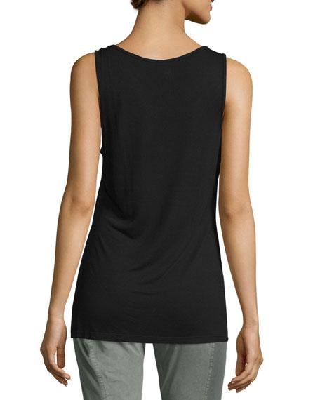 Thin-Strap Supima® Cotton Tank Top, Plus Size