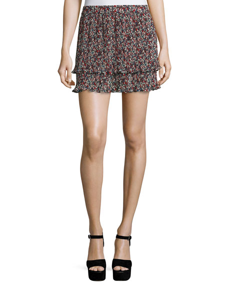 Derek Lam 10 Crosby Pleated Convertible Chiffon Cami/Skirt,