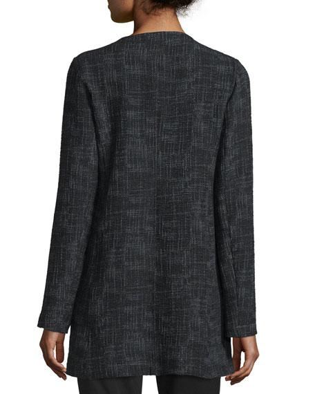 Crosshatch Tencel? Long Jacket, Black Best Reviews