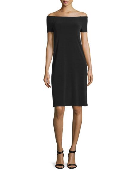Velvet Sorana Off-The-Shoulder Dress, Black