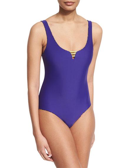 Basta Surf Mokiki Reversible Low-Back One-Piece Swimsuit