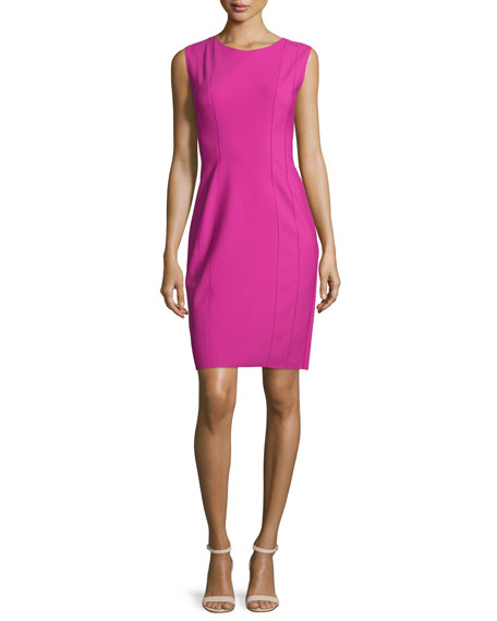 Elie TahariMarley Sleeveless Sheath Dress, Lotus