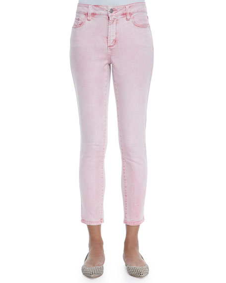 NYDJ Angie Super Skinny Ankle Jeans, Waterlilly