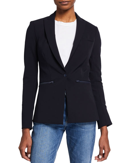 Bi-Stretch Scuba Jacket