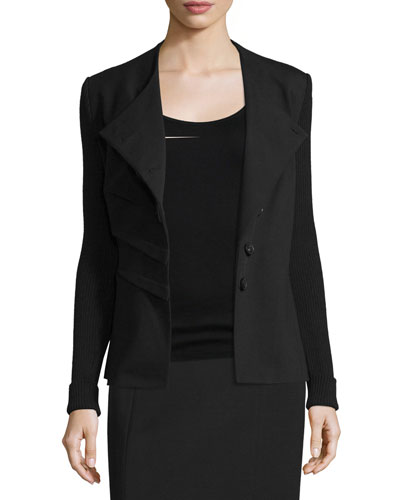 Folded Asymmetric Jacket