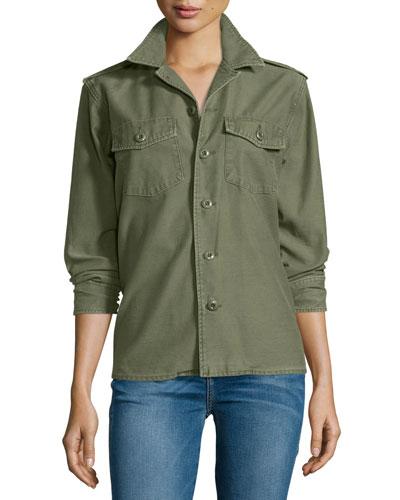 Major Cotton Shirt Jacket