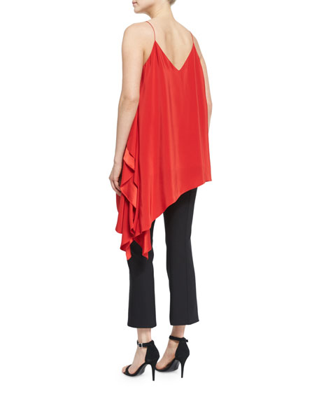 Romeo Sleeveless V-Neck Draped Top
