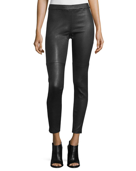 Eileen Fisher Fisher Project Leather Leggings